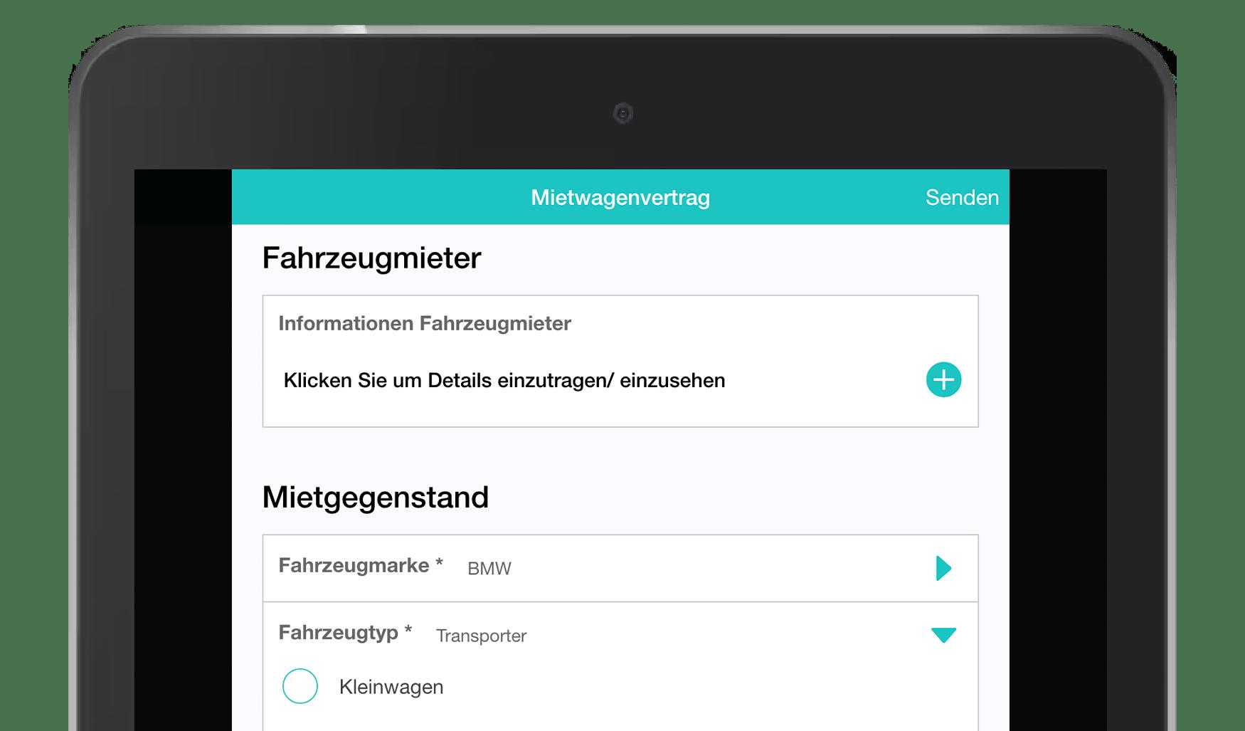 MoreApp DE_Mietwagenvertrag
