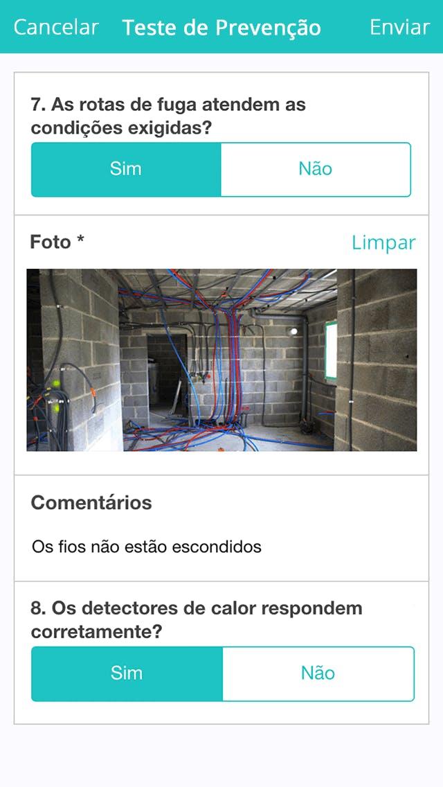 App para inspeções
