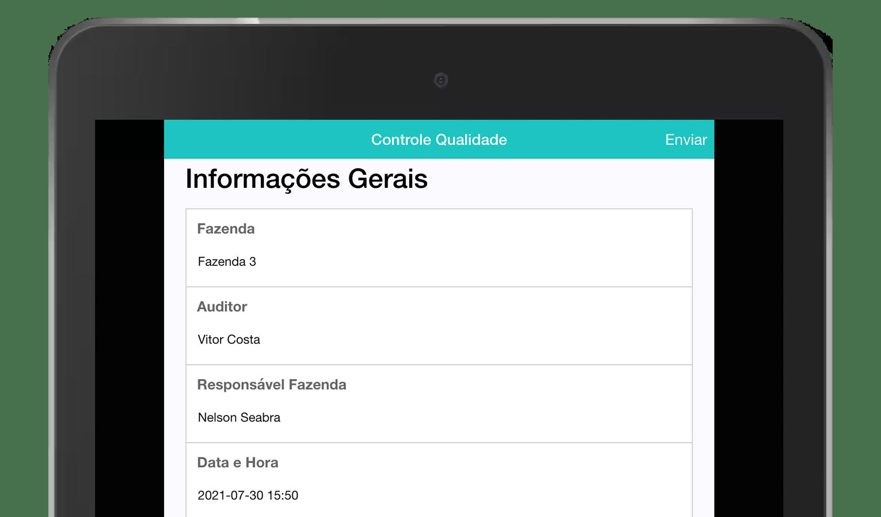 MoreApp Controlo de Qualidade App