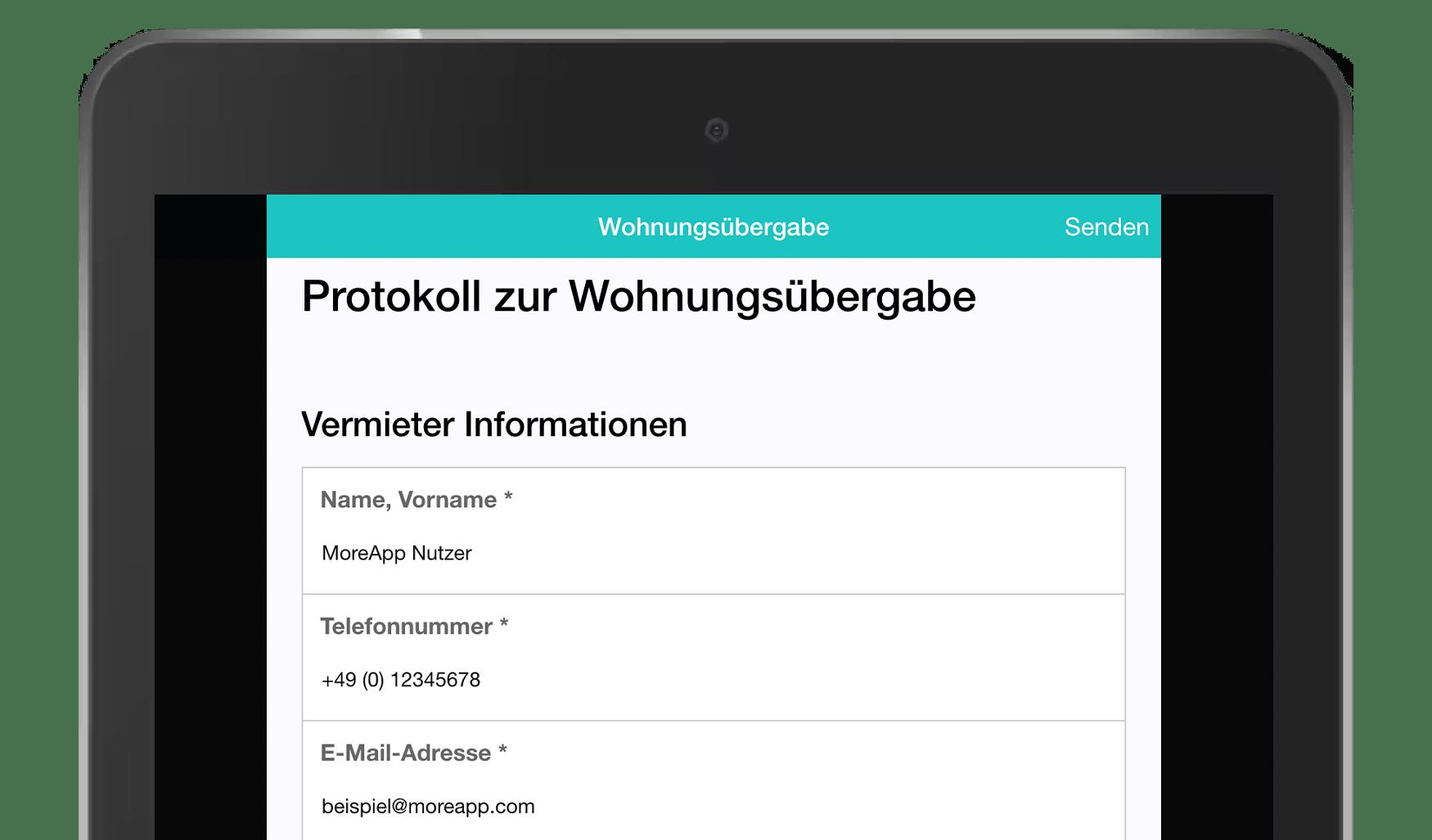 MoreApp DE_Wohnungsübergabe-Protokoll
