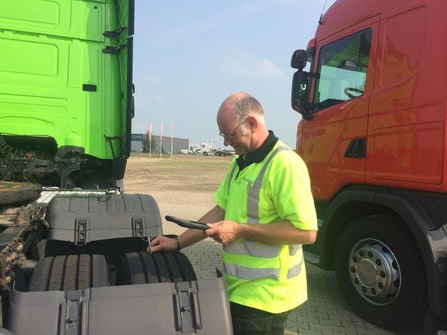 Scania vrachtwagen taxeren met MoreApp