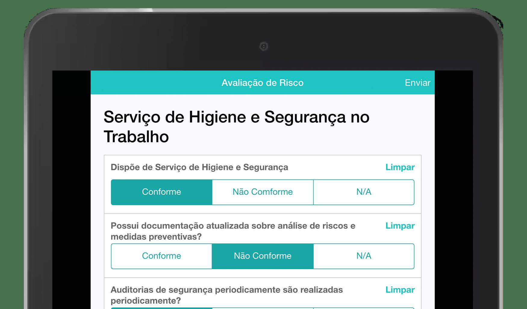 MoreApp Aplicação de Avaliação de Risco
