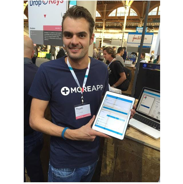 MoreApp at Web Summit