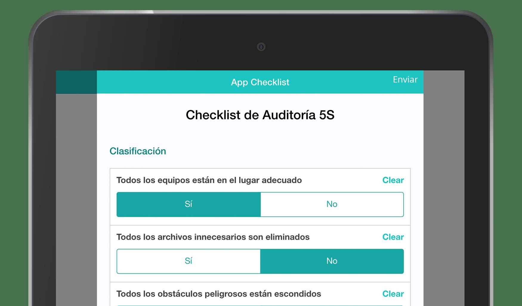 Formulario MoreApp de Checklist