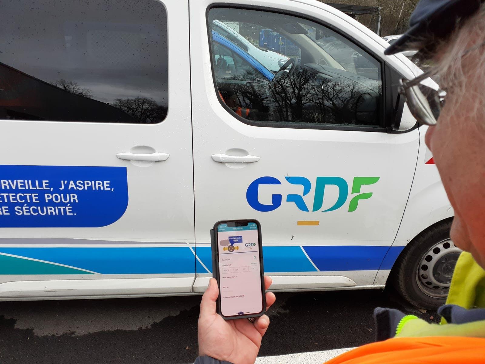 Formulario Digital de Control de Calidad para GRDF