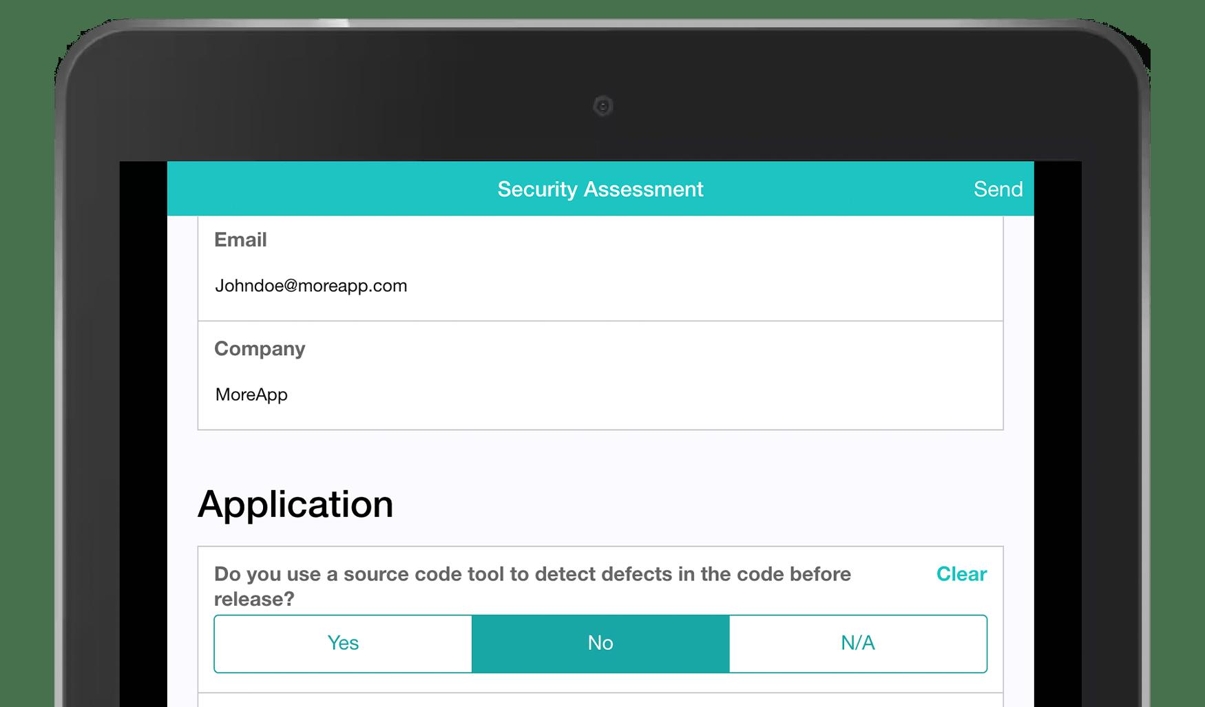 MoreApp Security Assessment App