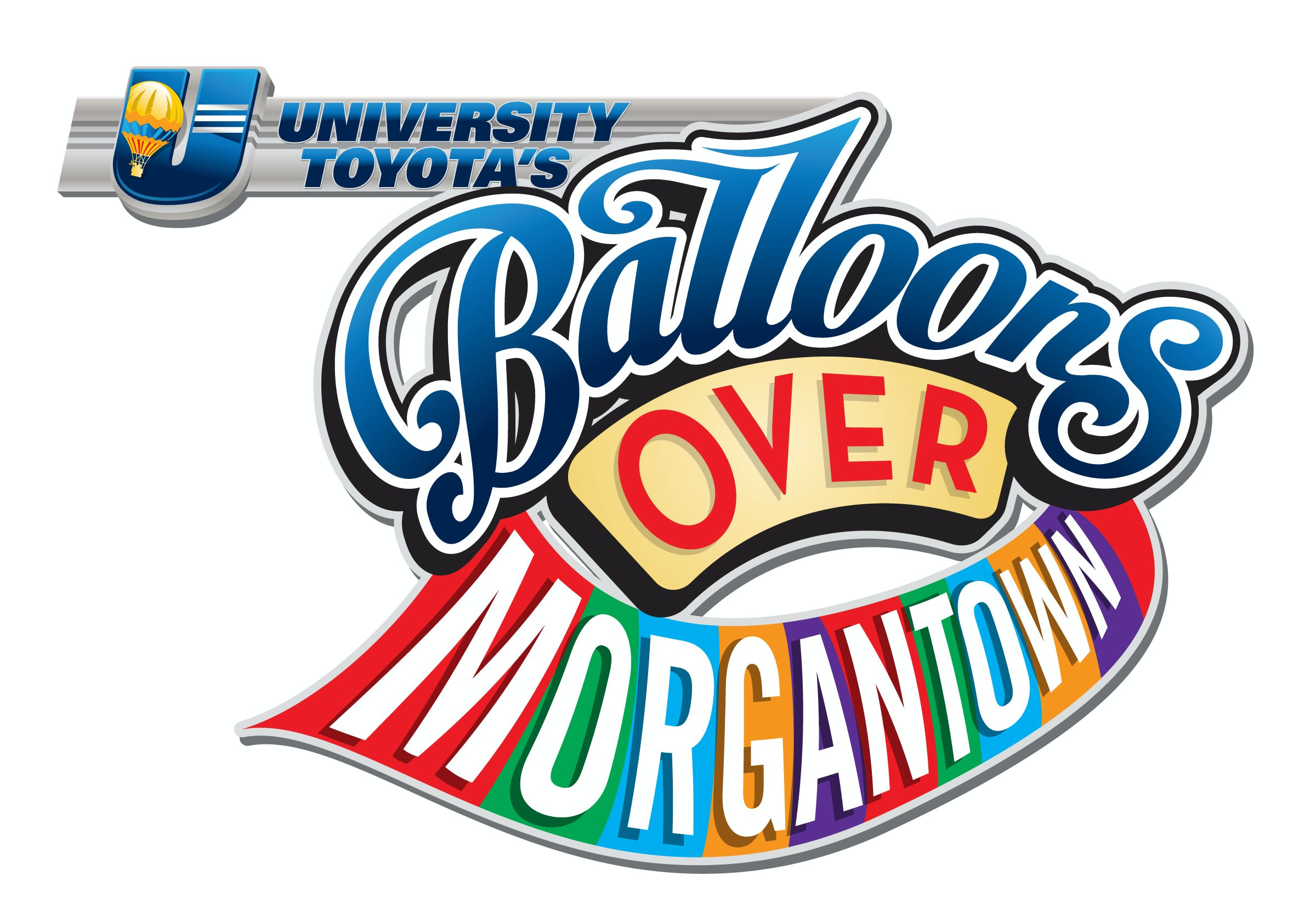 Balloons Over Morgantown Logo.