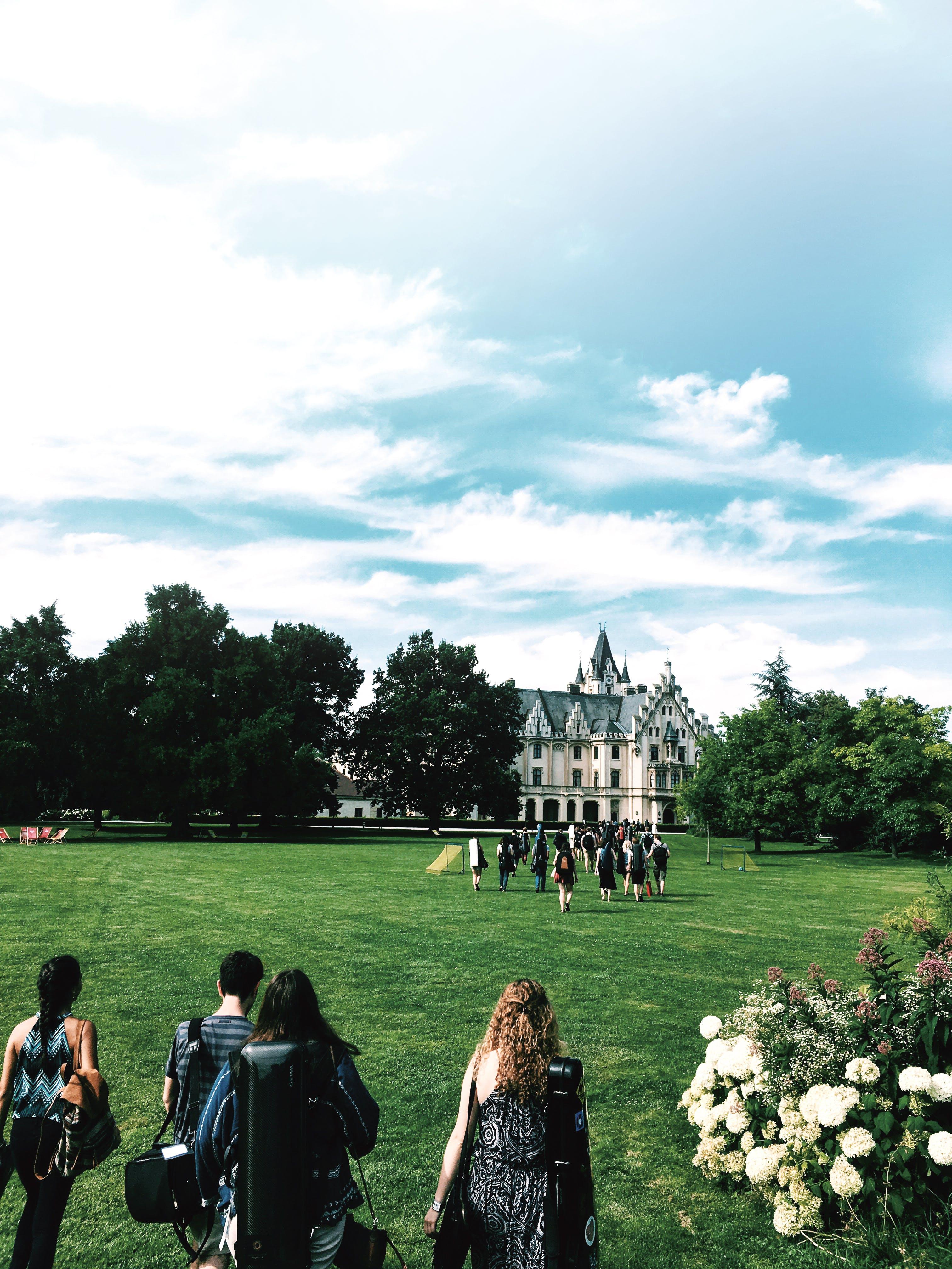 Magnet für den musikalischen Nachwuchs: Schlosspark Grafenegg