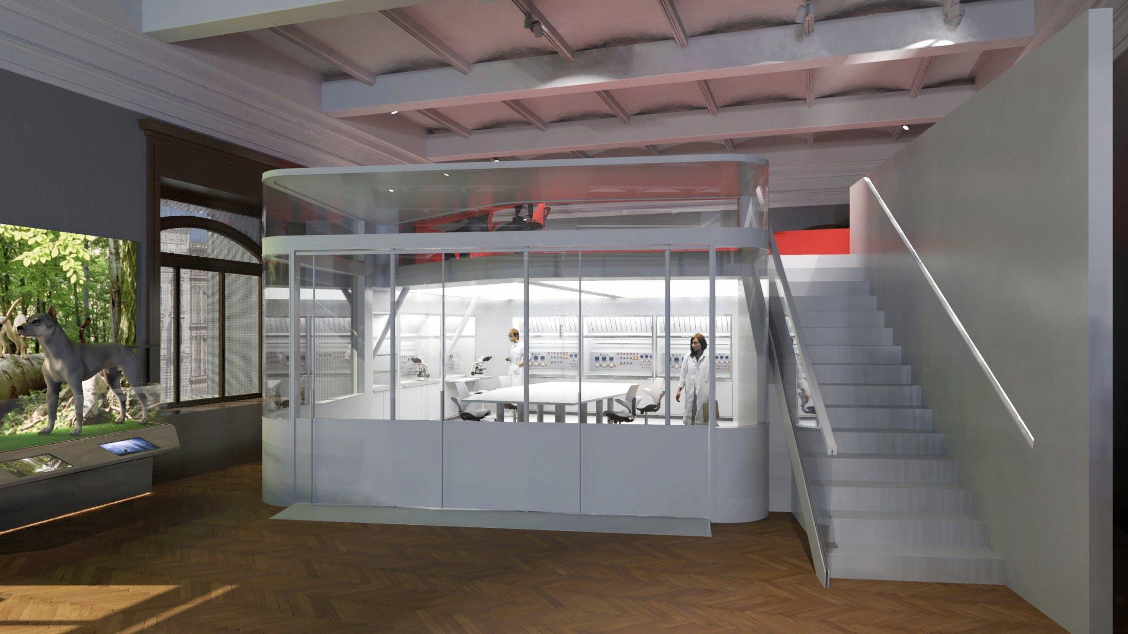 Neuer Ort für Wissenschaftskommunikation: Deck 50, Rendering