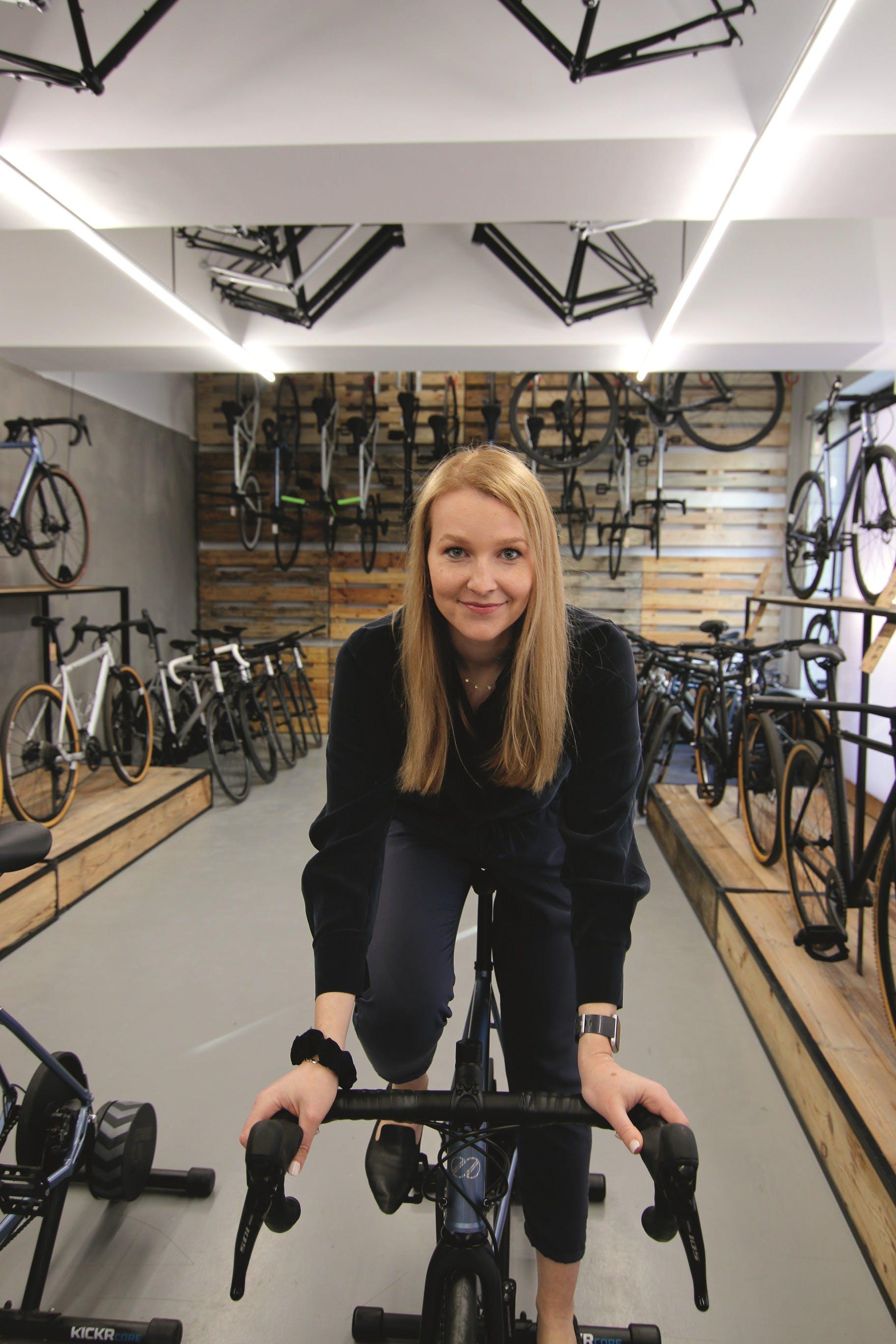 Mobilitätsexpertin und passionierte Radlerin: Martha Wanat