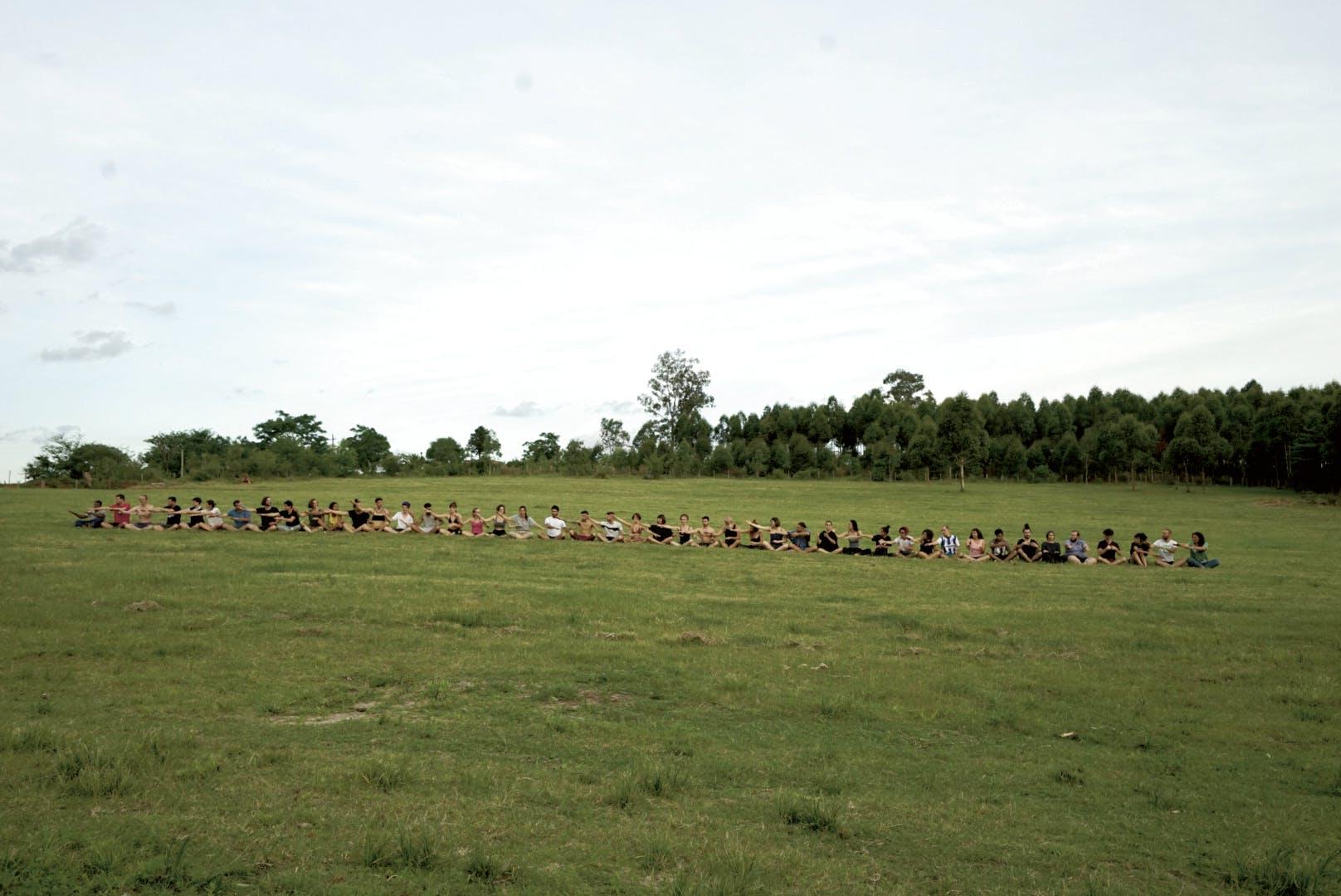 """Amanda Piña, """"Endangered Human Movements Archive"""", Festival Nido, Uruguay"""