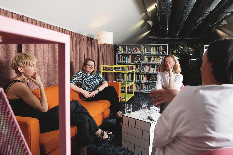 Interview Mona Jas, Bettina Kogler, Bettina Masuch