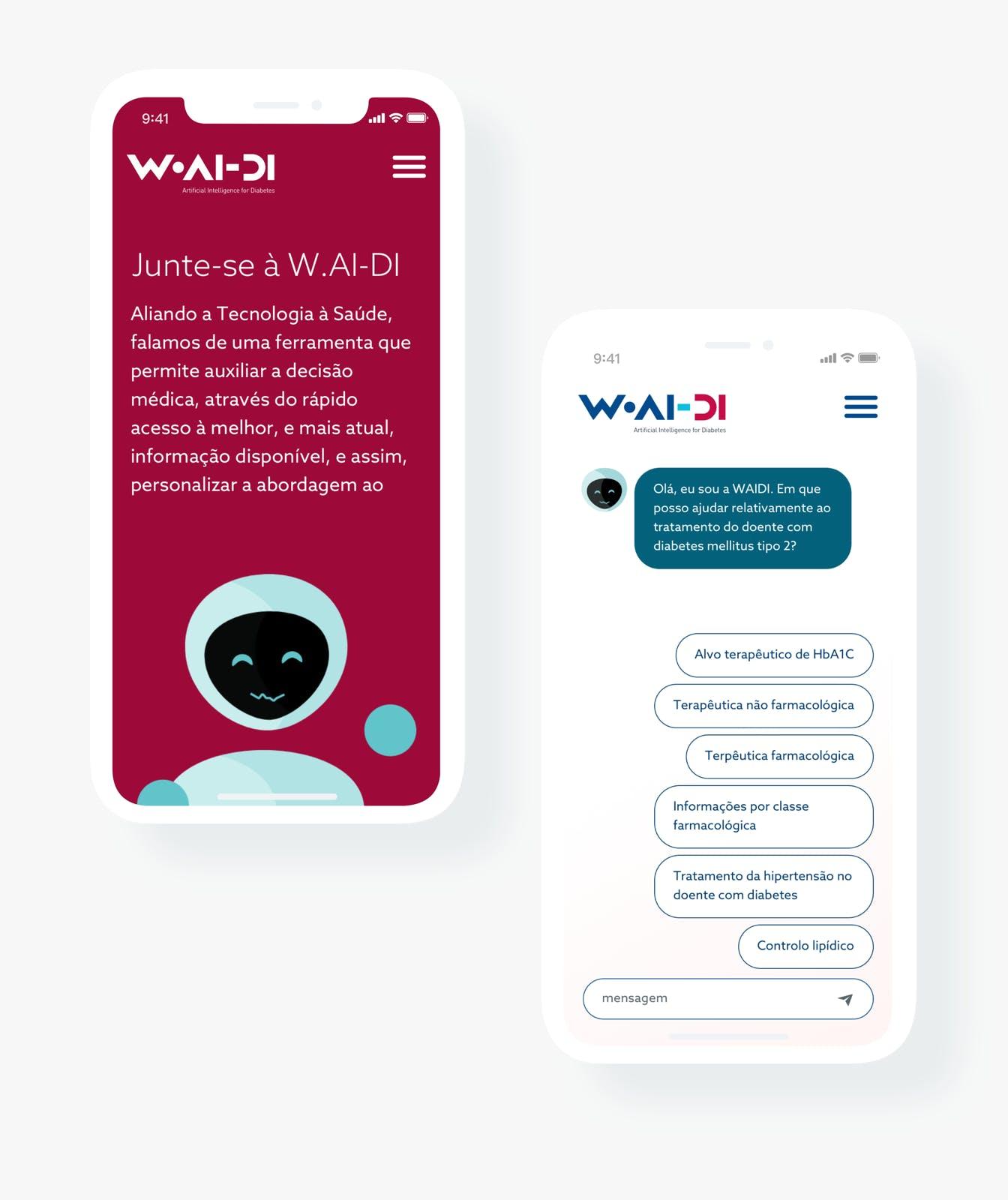W-AI.DI mobile App by Mosano