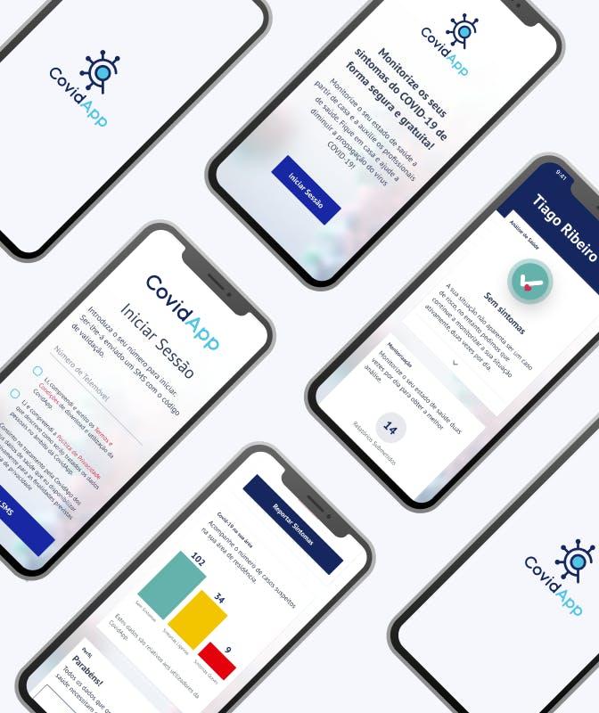 Covidapp Mobile Application