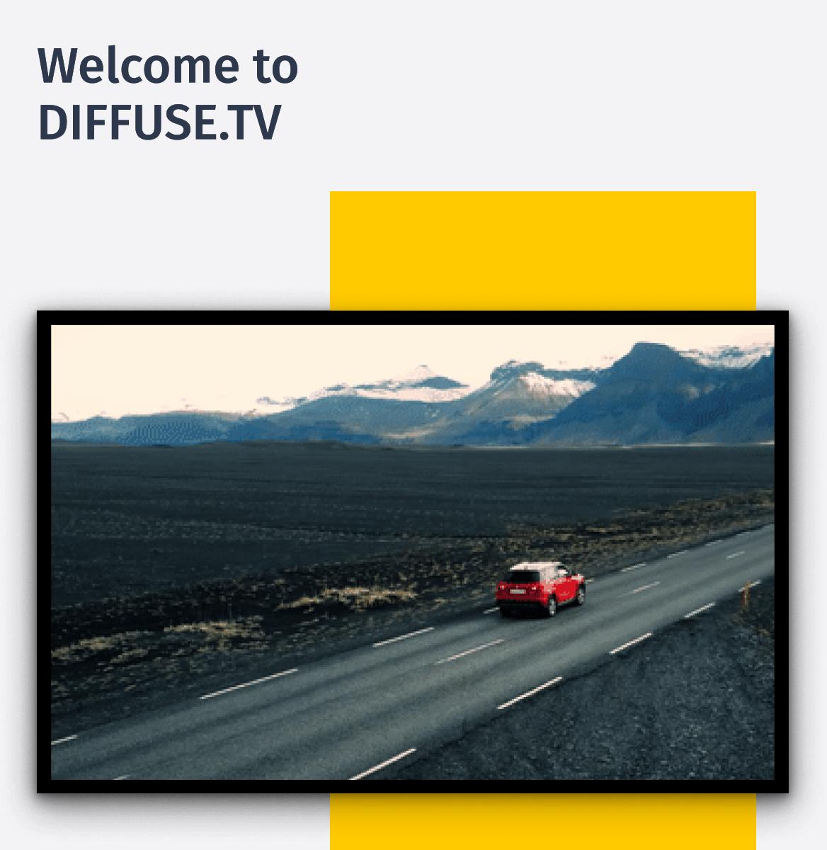 Diffuse.TV - Bringing the DOOH to Digital Screens