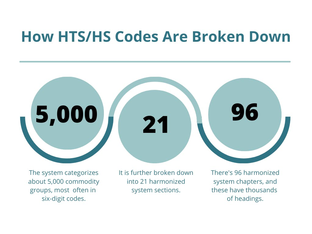 HS and HTS Code Breakdown for importers