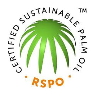 RSPO's certified sustainable palm oil logo
