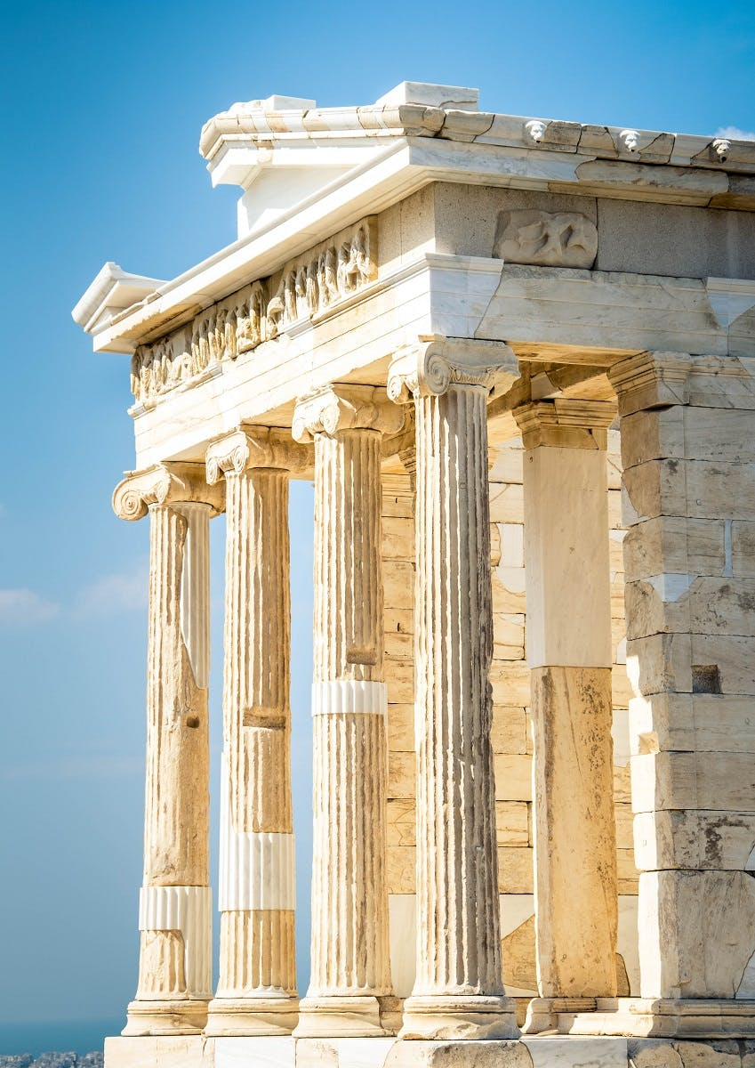 Athenian democracy developed around the sixth century BC in the Greek city-state of Athens, comprising the city of Athens and the surrounding territory of Attica.