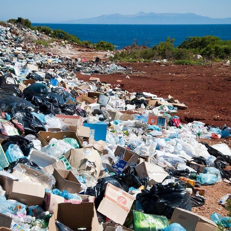 A landfill site. Embracing the Zero Waste movement will keep tonnes of waste out of landfill.