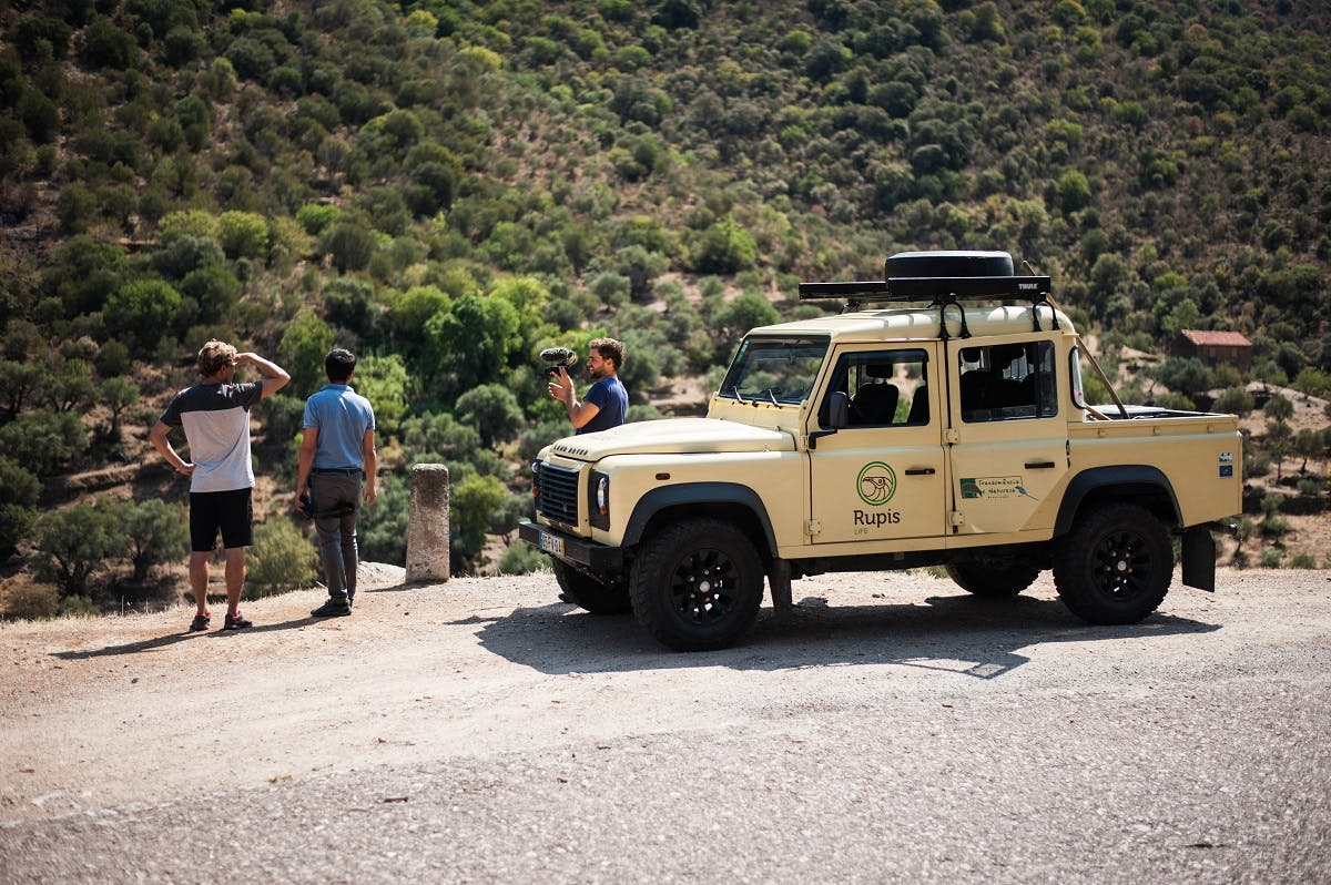The Mossy Earth team on location in Portugal's Douro Valley