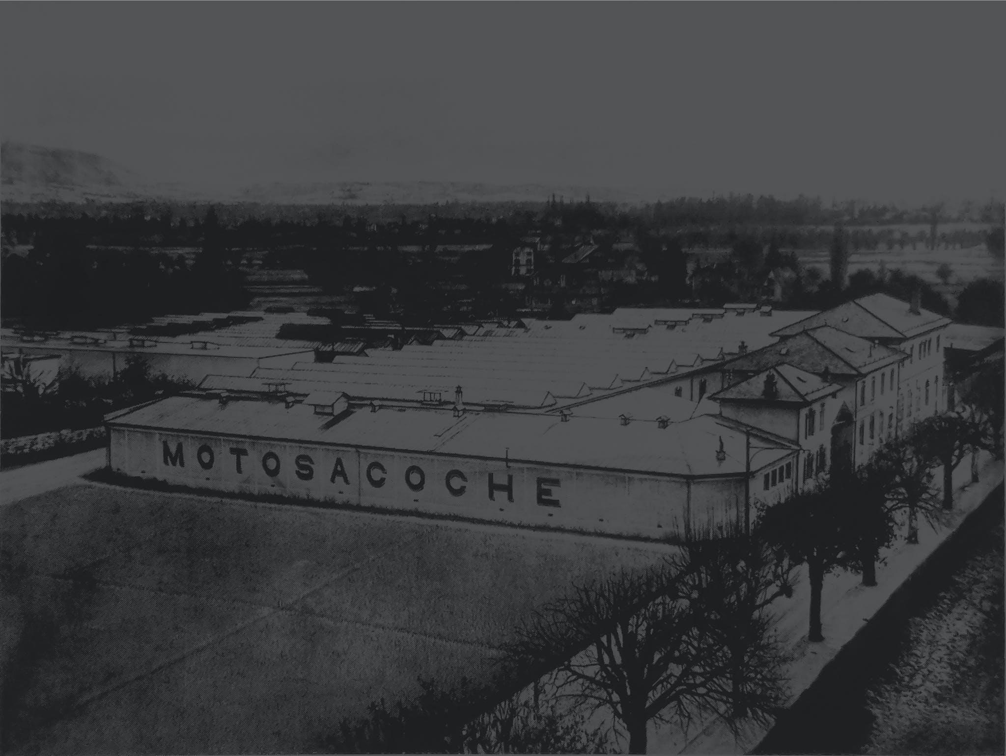Motosacoche ancienne usine