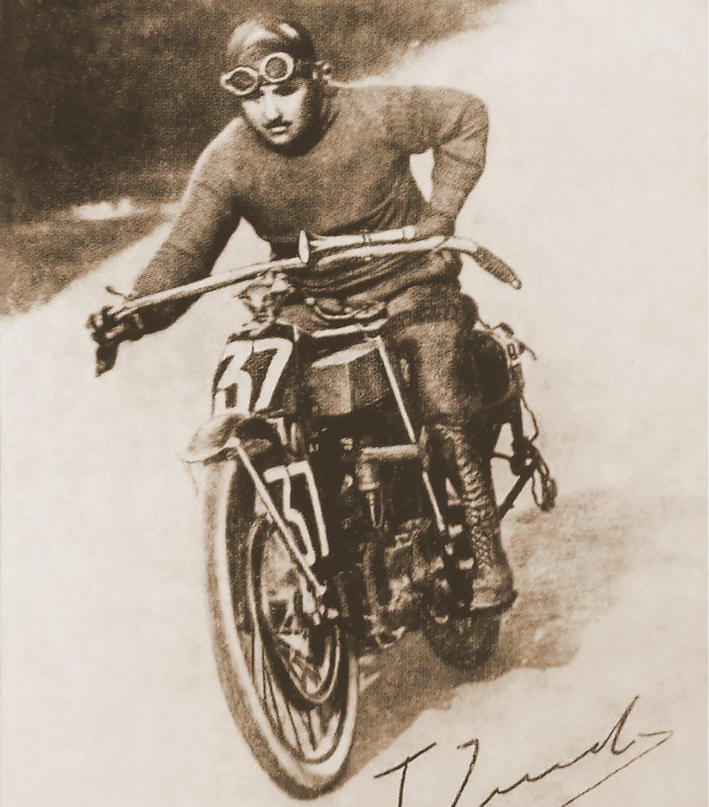 Tony Zind, vainqueur du premier Bol d'Or en 1922