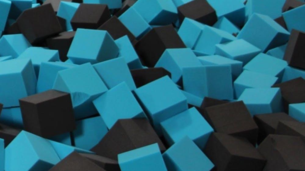 Cube mousse remplissage, cubes mousse polyuréthane, parcs et jeux pour enfants