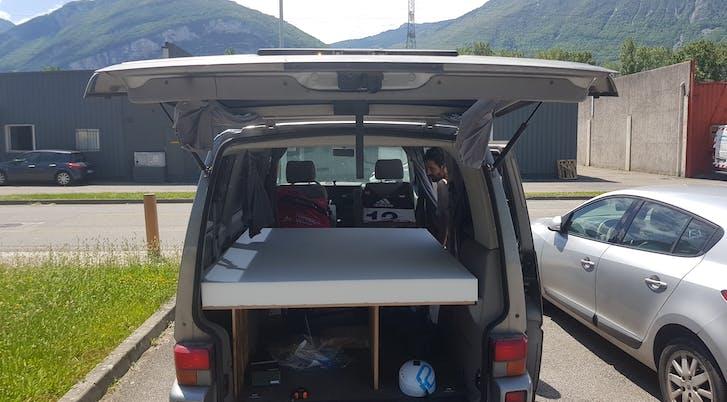 matelas véhicule aménagé