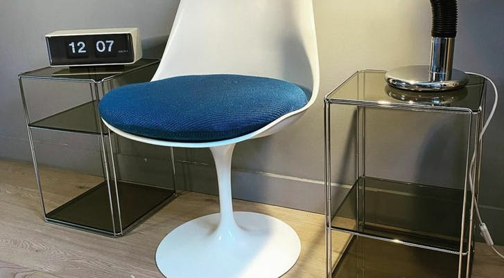 assise mousse fauteuil Knoll