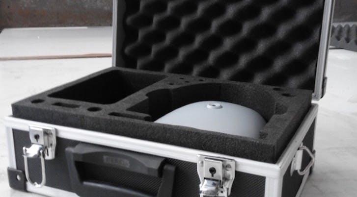 Fraisage pour calage dans une malette