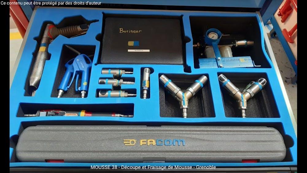 rangement malette EDF