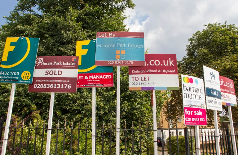 A bewildering array of 'For sale' boards. How do you choose the right estate agent?