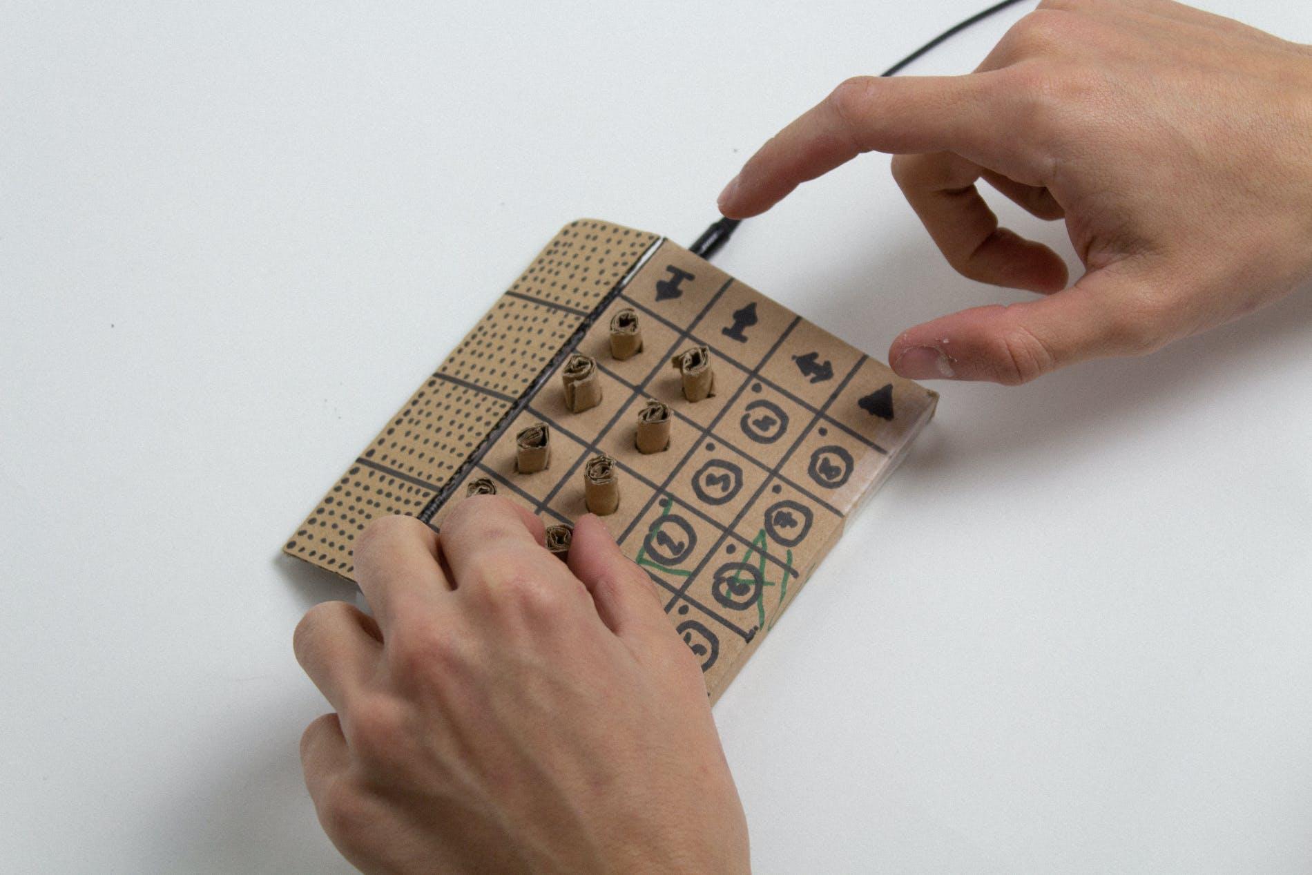 Godfried cardboard prototype