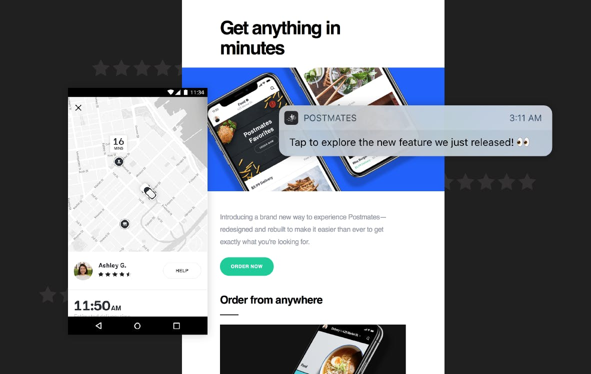 Postmates improves customer experience with mParticle.