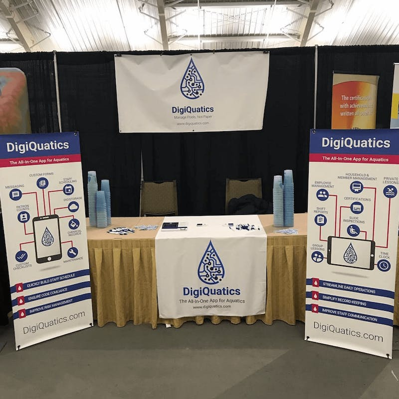 DigiQuatics Booth at TPPC