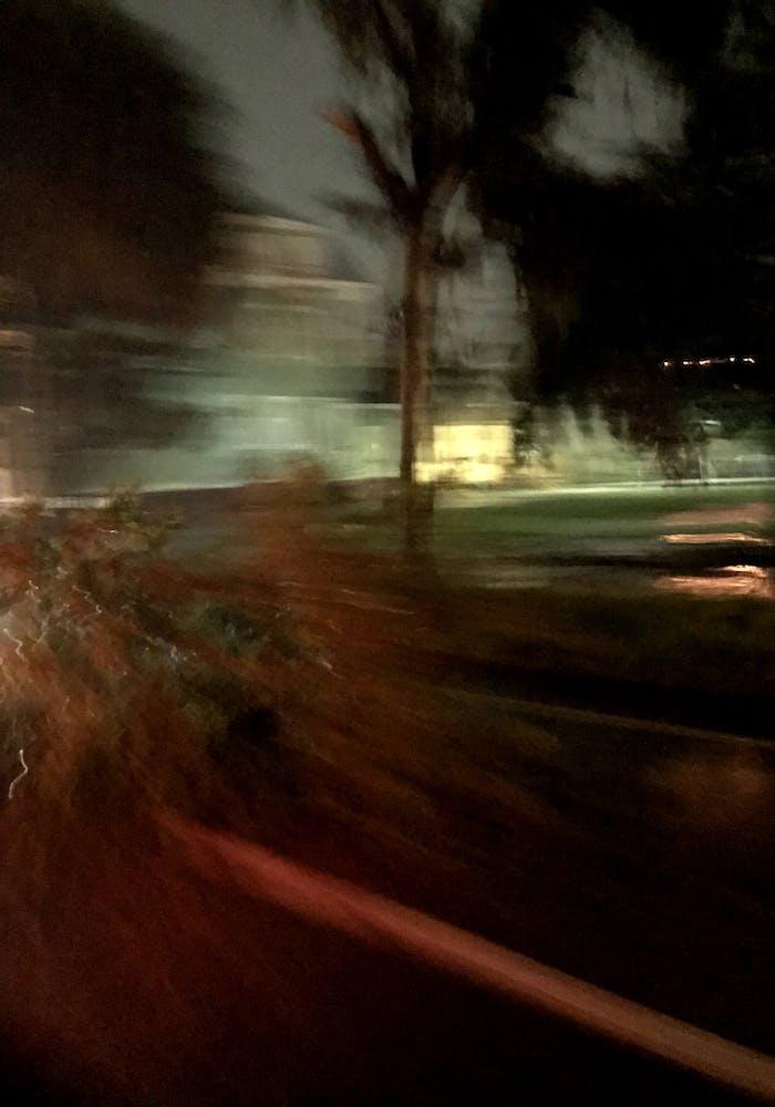 Bad storm in Savannah