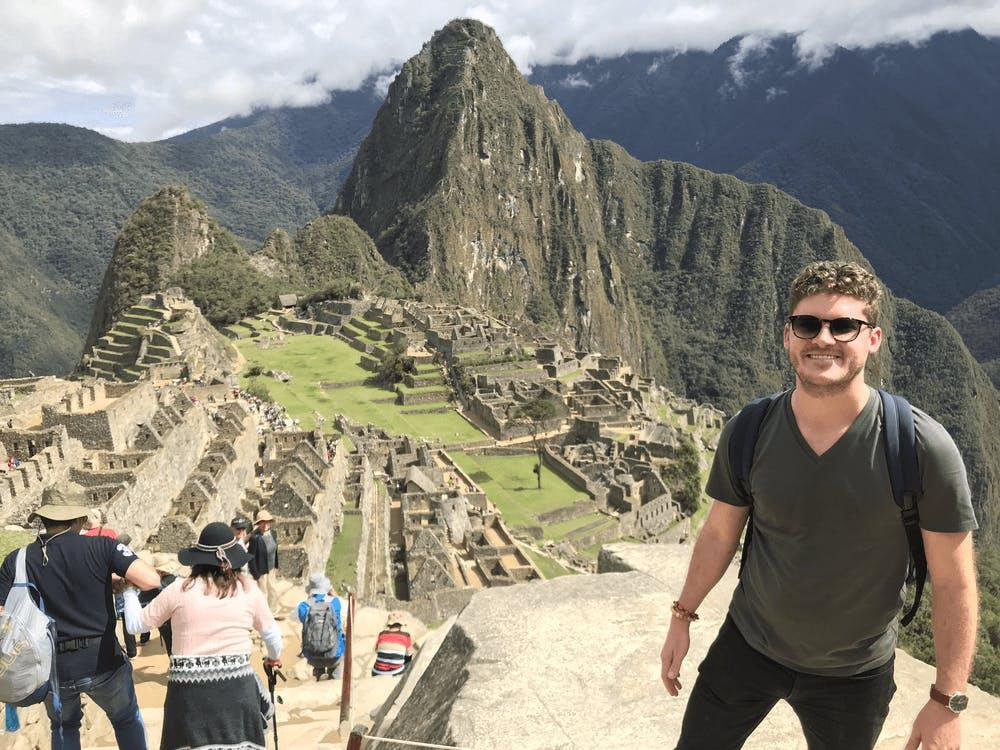 Me in Machu Picchu Peru