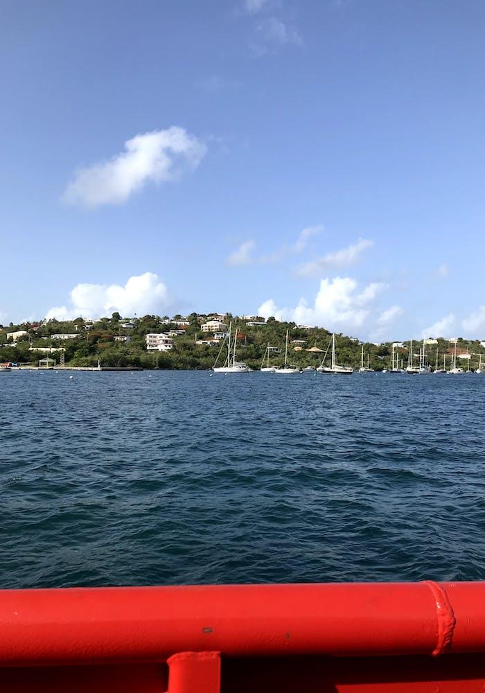 Ferry Between The Islands