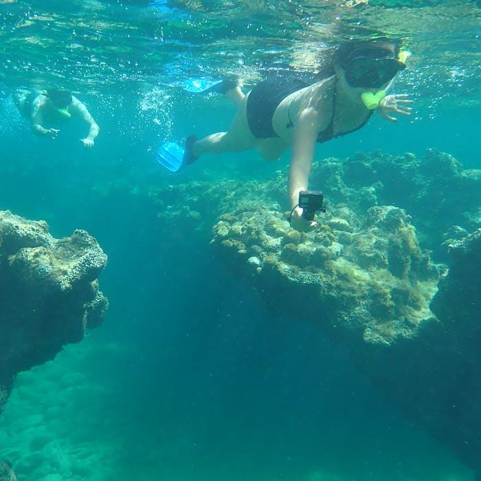 Snorkeling in St. John, U.S.V.I.