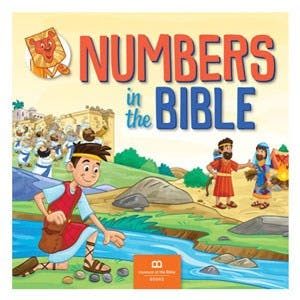 Numbers in the Bible Book (50480) - Museum of the Bible