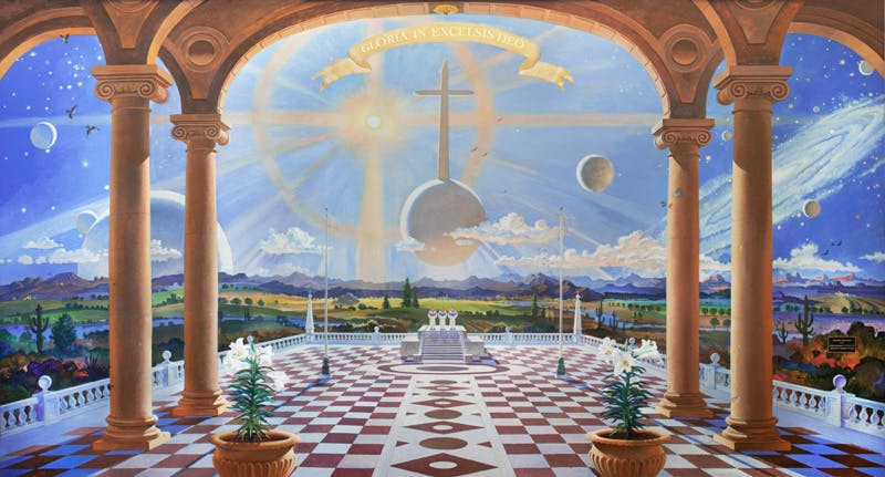 """Robert McCall's """"Music Is at the Heart of the Universe"""""""