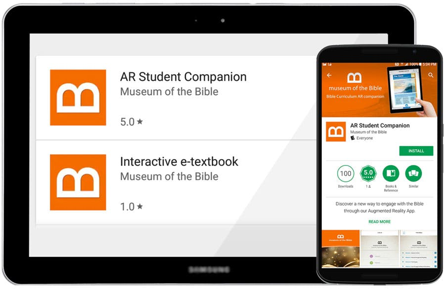 Bible Curriculum Available on the Google Play Store | Museum of the Bible