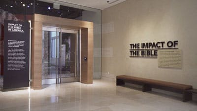 The Impact of the Bible — 2nd Floor of Museum of the Bible.