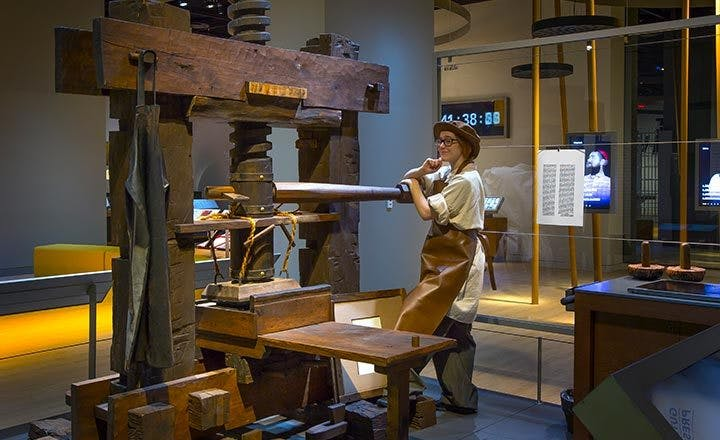 Revolutionary Words: The Gutenberg Press | Museum of the Bible