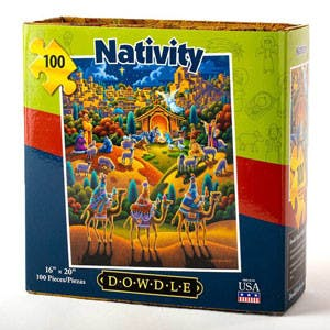 Nativity Jigsaw Puzzle - 100 Pieces | Museum of the Bible