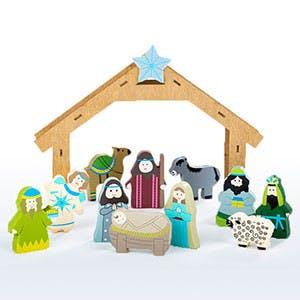12 Piece Children's Nativity Set (40473) - Museum of the Bible