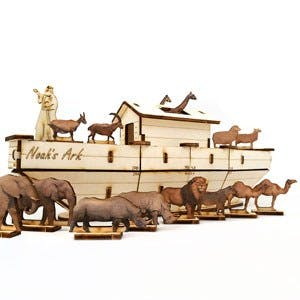 Noah's Ark Wooden Puzzle Kit (60174) - Museum of the Bible
