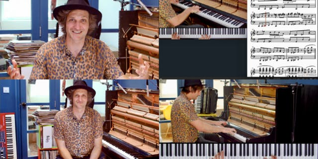 Paddy Milner Playing Boogie Woogie Piano