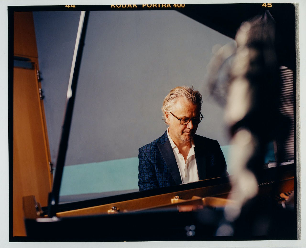 Guy Chambers Playing the Piano
