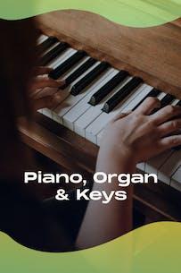 Piano, organ & keyboards